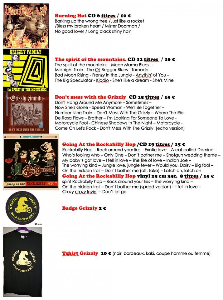 Rockarocky Agenda Info Concert Festivals